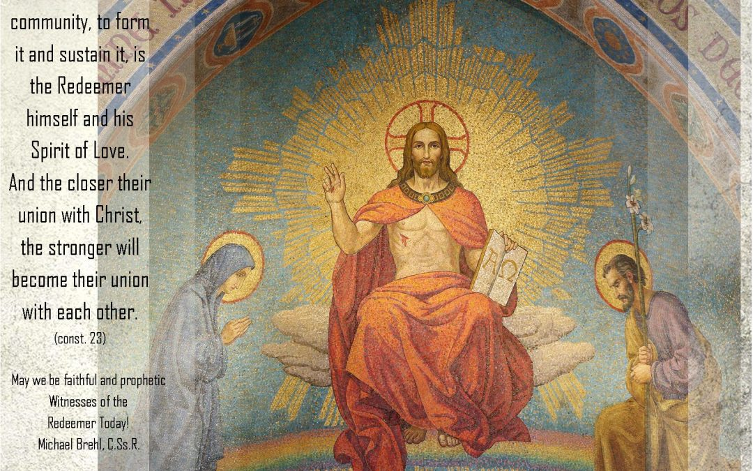 FEAST OF THE MOST HOLY REDEEMER