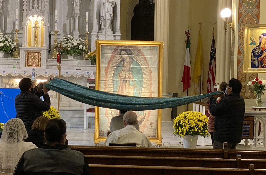 Consecration – Our Lady of Guadalupe