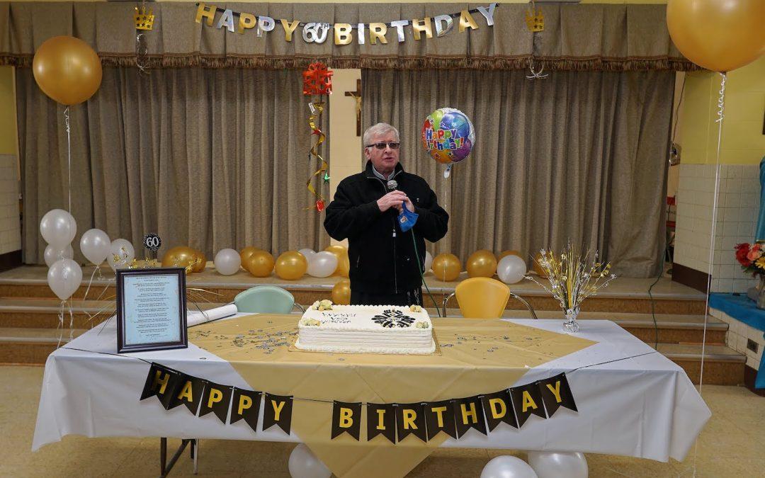 Fr. Marian 60th Birthday